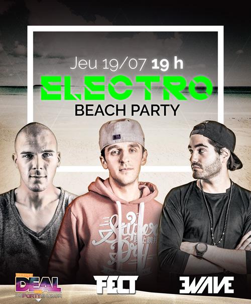 JEUDI 19/07 ELECTRO BEACH PARTY